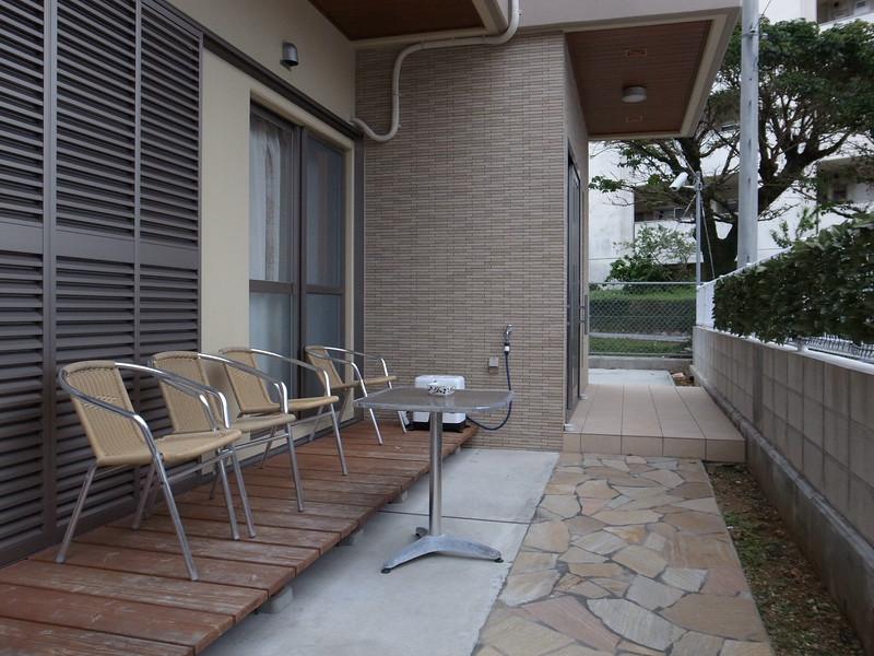Airbnb Okinawa porch