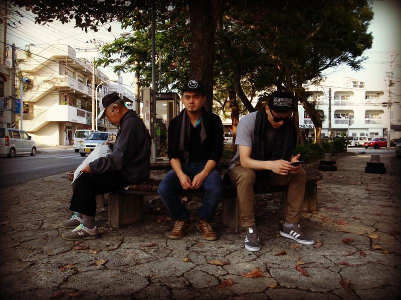 Okinawa bus stop