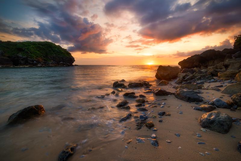 Okuma's Amazing Sunset