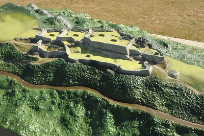 Nakagusuku (castle) map