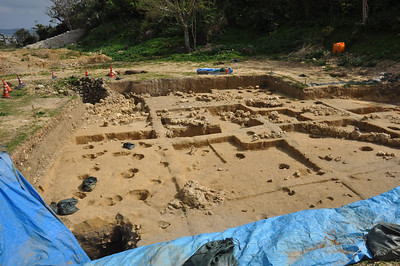 Katsuran excavations