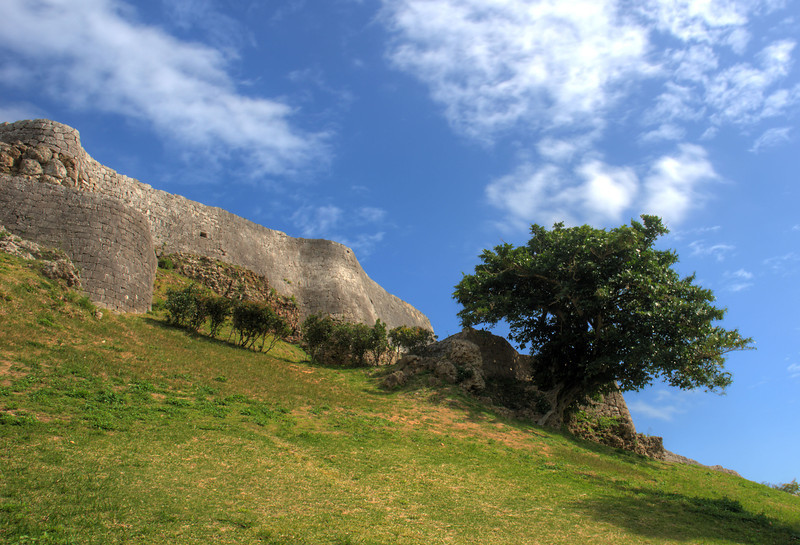 Katsuran Castle southern wall
