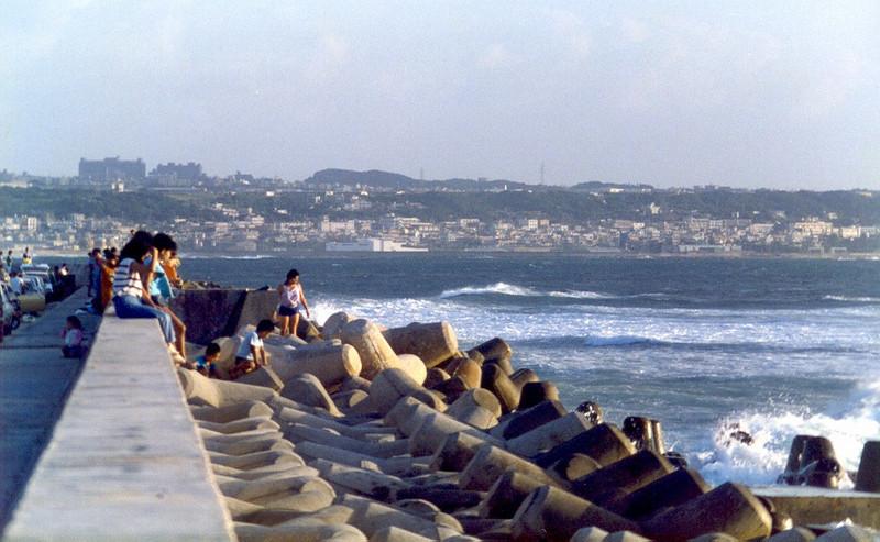 Sunabee sea wall