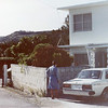 Our house off base, Onishi area.  My room was that box on top.