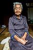 Portrait de Setsuko Nishime (97 ans), doyenne de l'île sacrée de Kudaka. Archipel d'Okinawa/Japon
