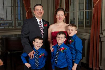 Family of MW Ridge Smith & 1st Lady Carol Smith