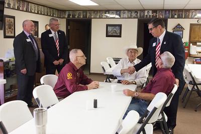 Jones City Lodge #537 Reception of Grand Lodge Officers 4/28/2016