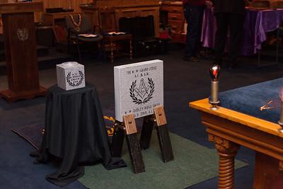 Jones City Lodge #537 Cornerstone Ceremony 12/9/15