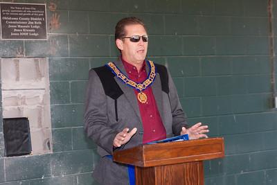 Jones City Park Cornerstone Ceremony 12/1/15