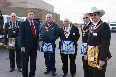 Jones High School Cornerstone Ceremony 12/1/15