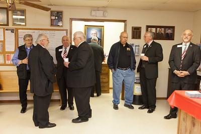 Yukon Lodge #90 Reception of Grand Lodge Officers 2/16/2016