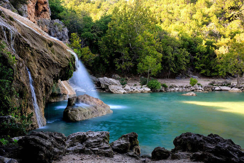 Turner Falls State Park - David, Oklahoma - Oct 2016