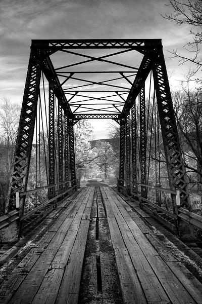 Iron Bridge - Hawcreek, Oklahoma