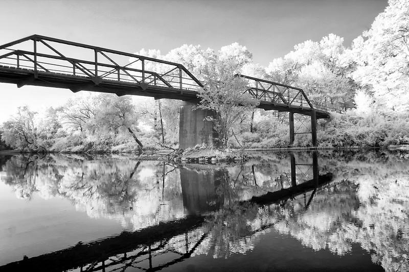 Steel Bridge over Mountain Fork River