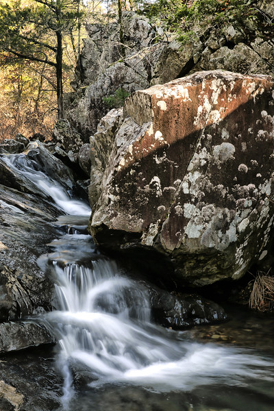 Upper Secret Hole Falls - Broken Bow, Oklahoma - January 8, 2018