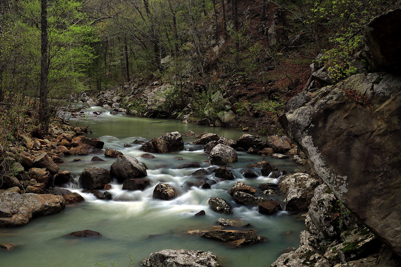 Cedar Creek - Big Cedar, Oklahoma  - Ouachita Trail