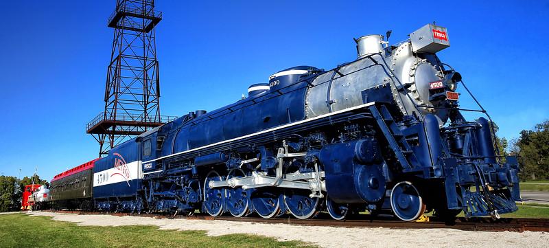 St. Louis - San Francisco RR No. 4500 - Route 66 Village - Tulsa, Oklahoma