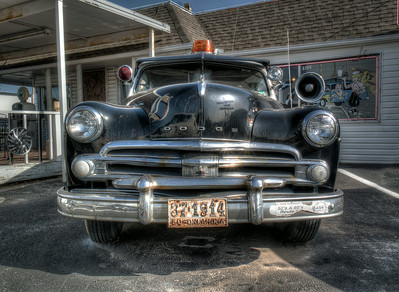 Classic Car along Route 66