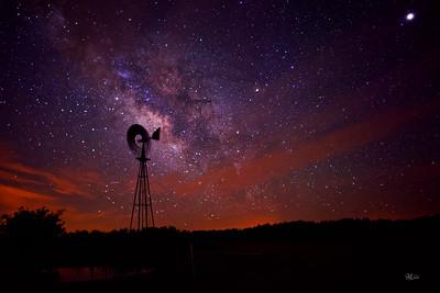 Windmill Milky Way