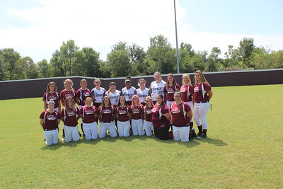 Softball Team and Senior pictures