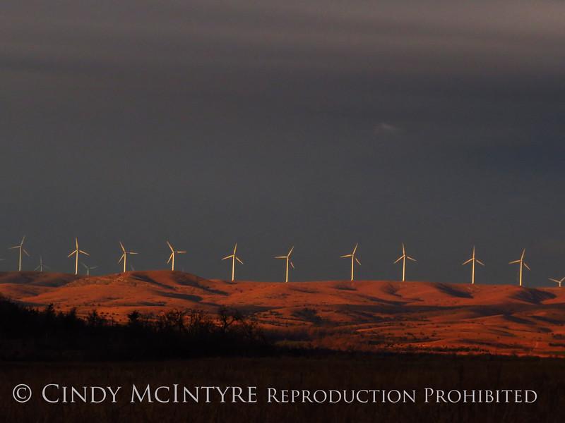Windfarm near Lawton OK (2)