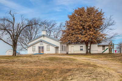 Lone Elm Freewill Baptist Church, Stigler, Oklahoma