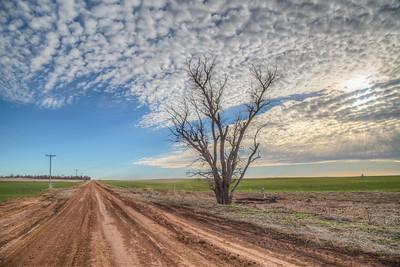 Frontage Road,Clinton, Oklahoma, USA