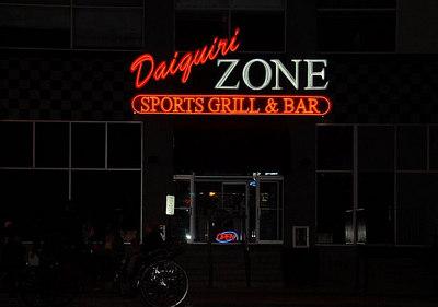 DAIQUIRI ZONE Sports Grill & Bar 27 E Sheridan Bricktown OKC, OK.