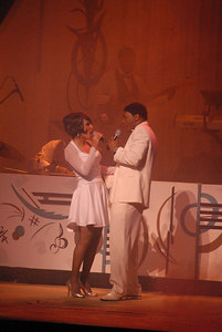 "The team's success was tragically cut short in 1967 when, during a concert appearance in Virginia, Terrell collapsed into Gaye's arms on-stage, the first evidence of a brain tumor that abruptly ended her performing career and finally killed her on March 16, 1970. Her illness and eventual loss left Gaye deeply shaken, marring the chart-topping 1968 success of ""I Heard It Through the Grapevine,"" his biggest hit and arguably the pinnacle of the Motown sound."
