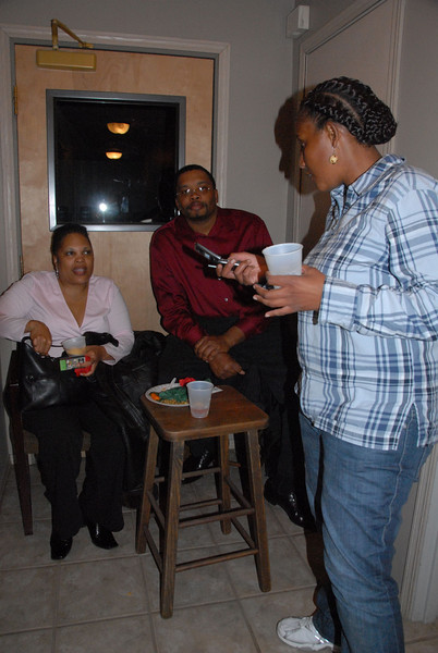 """The Links Holiday """"Rent Give Away"""" Party. Dec. 6, 2007."""