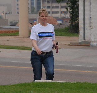 "A Five mile walk picture editorial. The ""March of Dimes"" Oklahoma City, Oklahoma May 5, 2007."
