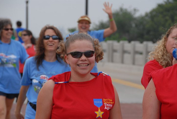 """A Five mile walk picture editorial. The """"March of Dimes"""" Oklahoma City, Oklahoma May 5, 2007."""