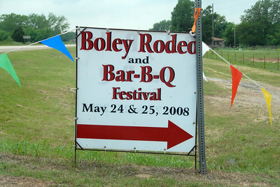 Annual Boley Rodeo - Boley, Oklahoma - The City of Boley celebrates with the Annual Boley Rodeo and Bar-B-Q Festival where some 30,000 fans come from all over the United States to one of the Nation's oldest African American rodeos. The rodeo begins at 8:00 PM nightly with barbecue all day long.