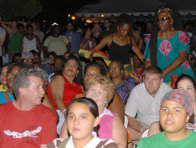 2006 OKC Reggae Concert in Bricktown.  Aug 28 - 29, 2006.
