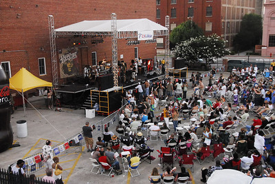 The Bricktown Reggae Fest was held outdoors on the corner of Sheridan & Oklahoma Ave, in the heart of Bricktown, Mon!