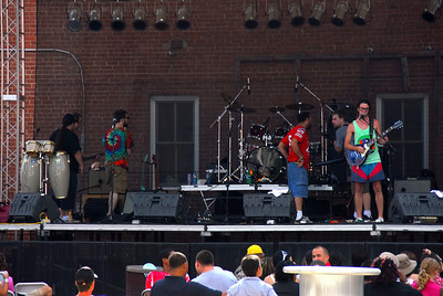 The 14th Annual Bricktown Reggae Festival. Featuring Sam & the Stylees..