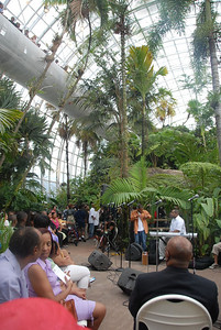 Spend a wonderful evening at the OKC Myriad Botanical Garden. Many beautiful people Praising the Father and Son. Much Love to Aahewh Productions.