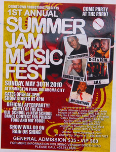 Summer Jam Musicfest Sunday May 30, 2010