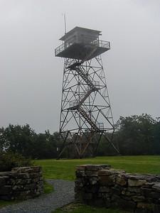 Talinema Scenic Drive. Rich Mountain fire tower in Arkansas