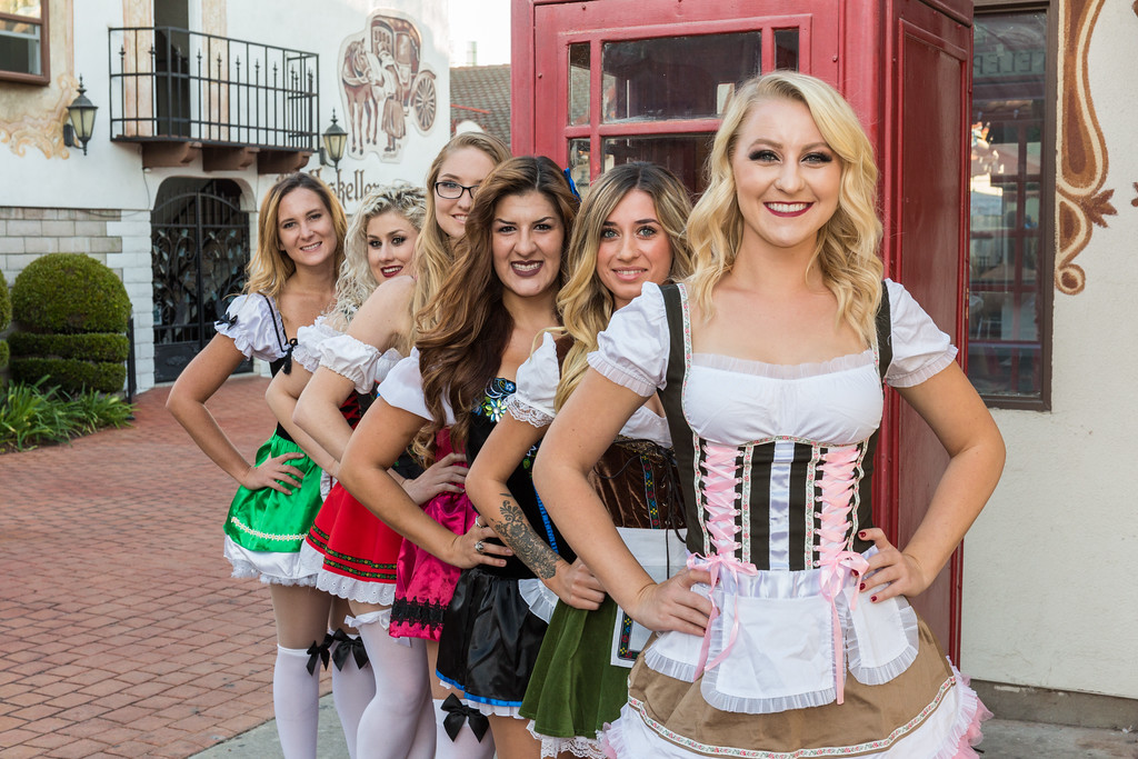 Oktoberfest Shot Girls
