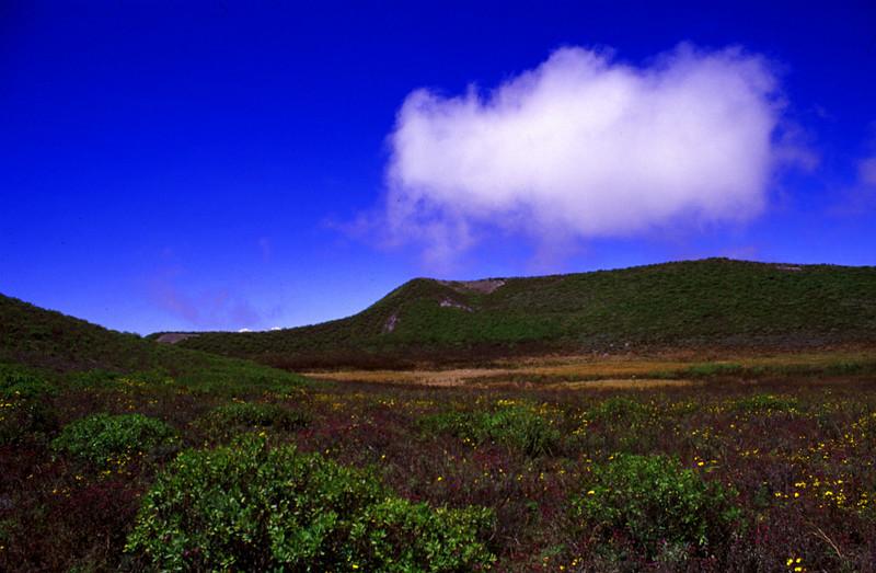 South Crater of Ol Doinyo Lengai. June 2004 #ODL2004-1