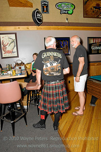 Celtic Ale Trail Kick-Off party at the Irish Rose, Youngstown, New York. June 20, 2010.