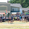 Food Truck Rodeo at Olcott Beach, NY on June 11, 2016.