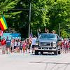 The 2011 Patriot's Parade in Olcott, NY on July 4, 2011.