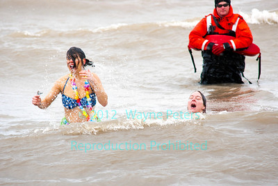 Olcott Polar Bear Swim for Sight, the 43rd annual, held on March 4, 2012