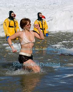 """2006 Polar Bear """"Swim for Sight"""" in Olcott, New York."""