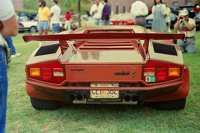 Brown Countach