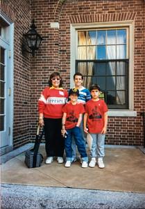 Family Photoshoot - Where is my Ferrari shirt?