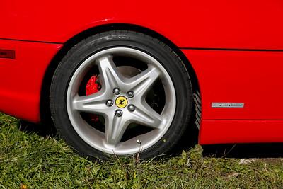 1999 Ferrari F355 detail photo (Photo by Jeremy Hogan)