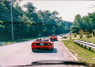 Another friend had a Ferrari 512BB.  He later traded it for a red Countach